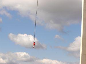 Bungee jumping zážitek