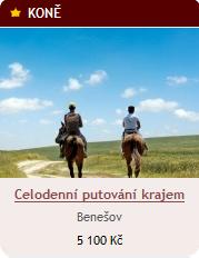 Celodenní jízda na koni přírodou