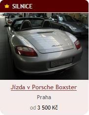 Jízda v Porsche Boxter