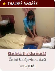 Klasická thajská masáž