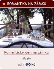 Romantický den na zámku v Mcelích