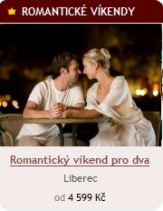 Romantický víkend pro dva