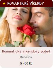 Romantický víkendový pobyt