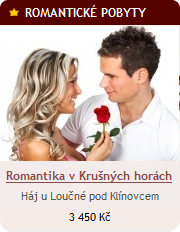 Romantika pro dva v Krušných Horách