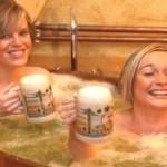 Vánoce - Pivní lázně pro dva