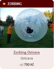 Zorbing Ostrava